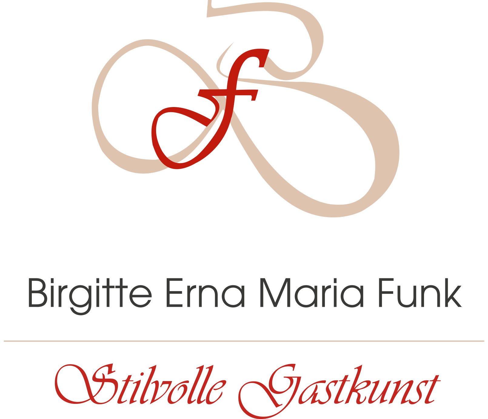 Stilvolle Gastkunst Birgitte Funk